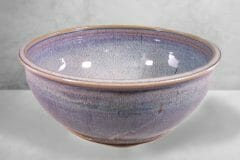 Large Bowl in Rutile Blue Glaze