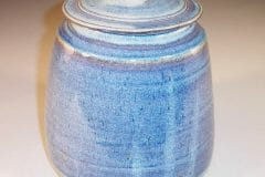 Cookie Jar in Rutile Blue Glaze