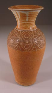 Slip Design Large Vase
