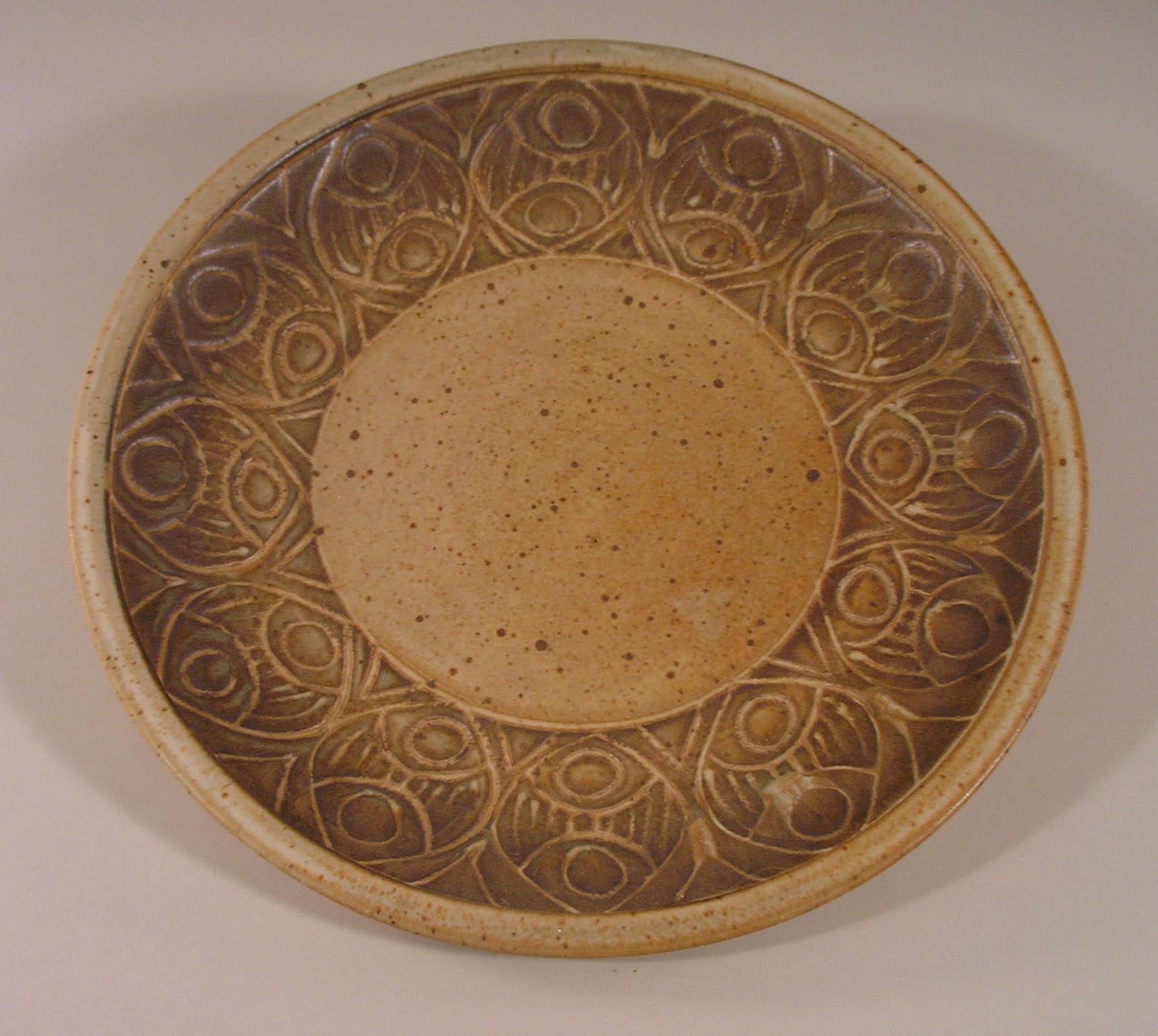 Slip Design Small Platter
