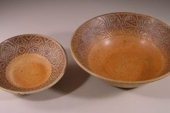 Slip Design Wide Bowl and Small Wide Bowl