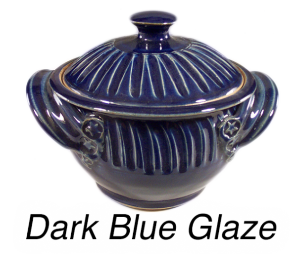 Dark Blue Glaze
