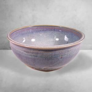 Large Bowl in Rutile Blue Glaze