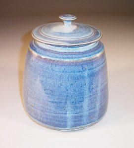 Cookie Jar in Rutile Blue Glaze