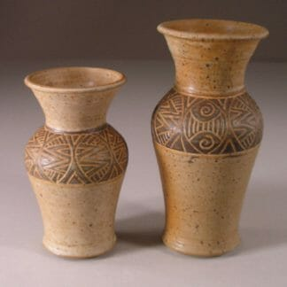 Slip Vases, Small and Medium