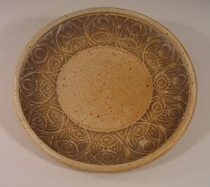 Slip Design Small Platter 1106